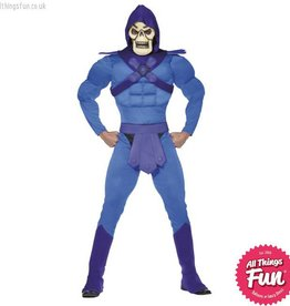 Smiffys Skeletor Muscle Costume