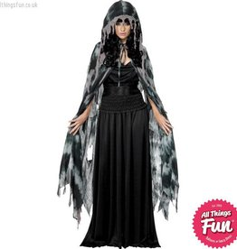 Smiffys *DISC* Gothic Manor Ghost Cape