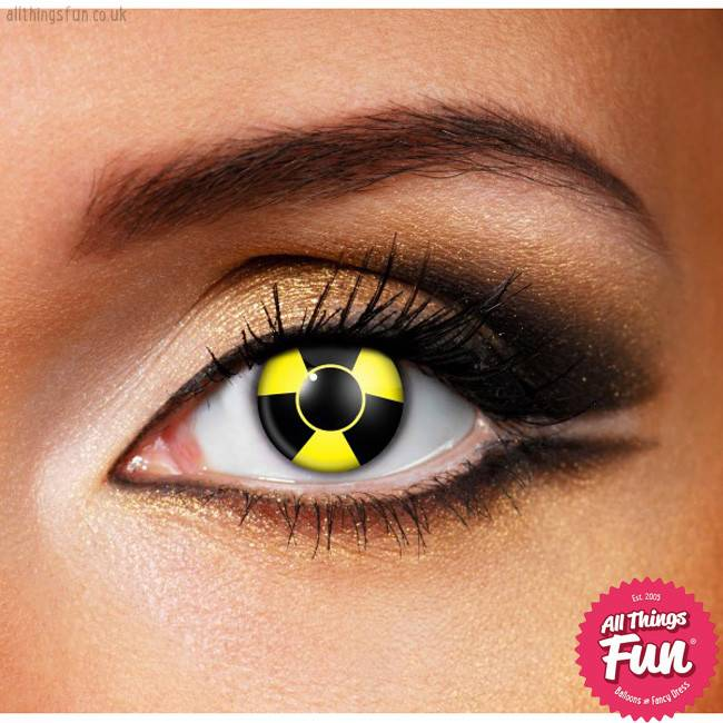 Funky Vision Bio Hazard Cosmetic Lens - 90 Day