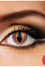Funky Vision Sauron Cosmetic Lens - 90 Day