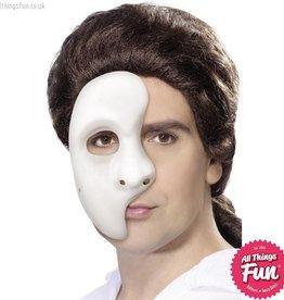 Smiffys *SP* White Phantom Mask