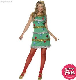 Smiffys Female Christmas Tree Costume