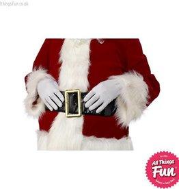 Smiffys White Short Gloves