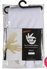 Smiffys White Short Gloves