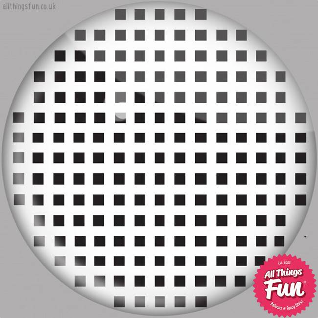 Funky Vision White Mesh Cosmetic Lens - 90 Day