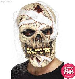 Smiffys *DISC* Skull Mummy Mask