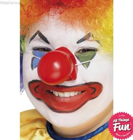 Smiffys Red Squeaky Clown Nose