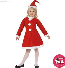 Smiffys Santa Girl Costume