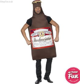 Smiffys Studmeister Beer Bottle Costume