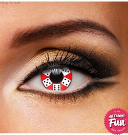 Funky Vision Lucky Dice Cosmetic Lense - 90 Day