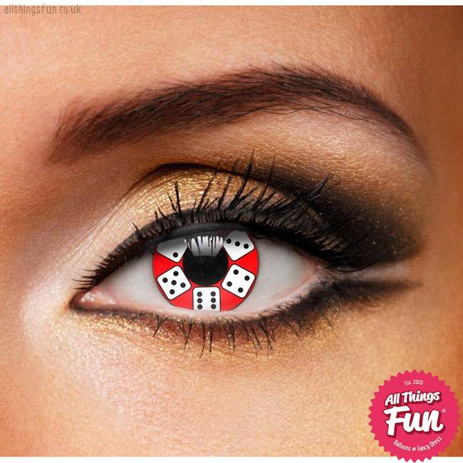 Funky Vision Lucky Dice Cosmetic Lens