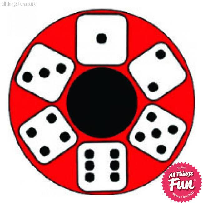 Funky Vision *SP* Lucky Dice Cosmetic Lens