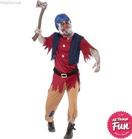 Smiffys Zombie Dwarf Costume