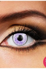 Funky Vision Glimmer Violet Cosmetic Lens - 90 Day