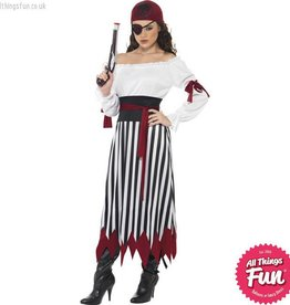 Smiffys Adult Pirate Lady Costume