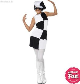 Smiffys 1960's Party Girl Costume