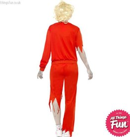 Smiffys *DISC* Zombie Sports Teacher Costume