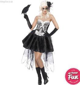 Smiffys *DISC* Skelly Von Trap Costume