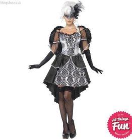 Smiffys Dark Angel Masquerade Costume