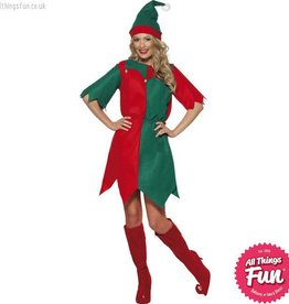 Smiffys Female Elf Costume