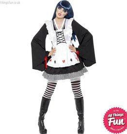 Smiffys Gothic Alice Costume Medium