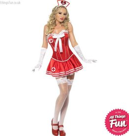 Smiffys *DISC* Adult Nurse Costume
