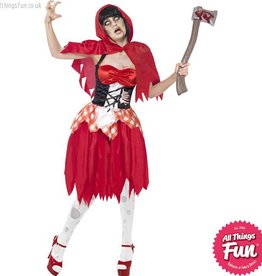 Smiffys Zombie Hooded Beauty Costume