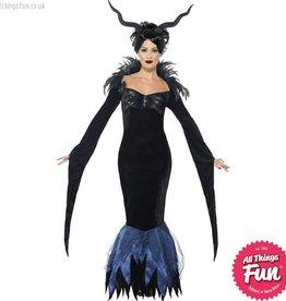 Smiffys Lady Raven Costume