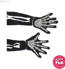 Smiffys Child sized Skeleton Gloves