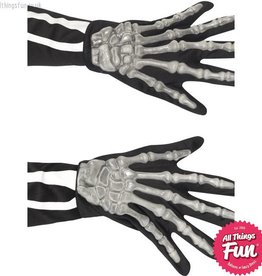 Smiffys Adult Skeleton Gloves