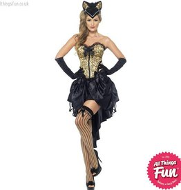 Smiffys Burlesque Kitty Costume