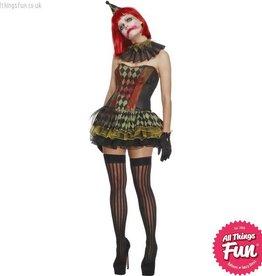 Smiffys Fever Creepy Zombie Clown