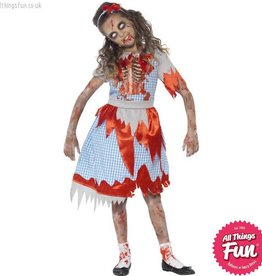 Smiffys Zombie Country Girl Costume
