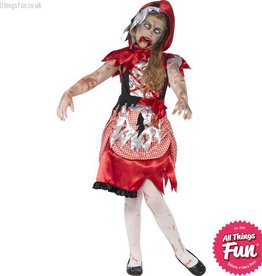 Smiffys Zombie Miss Hood Costume