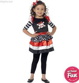 Smiffys Skully Girl Costume