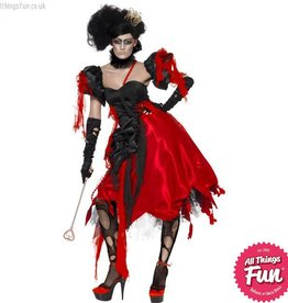 Smiffys Adult Queen Of Hearts Costume
