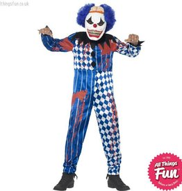 Smiffys Deluxe Sinister Clown Costume