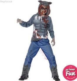 Smiffys Deluxe Wolf Warrior Costume