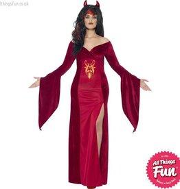 Smiffys Curves Devil Costume