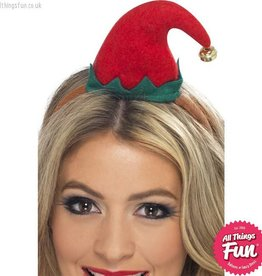 Smiffys Mini Elf Hat on a Headband