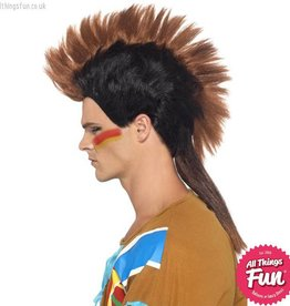 Smiffys Indian Male Mohican Wig
