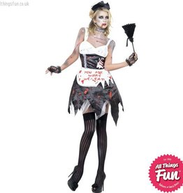 Smiffys *SP* Zombie French Maid Costume Small