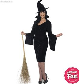 Smiffys Curves Witch Costume
