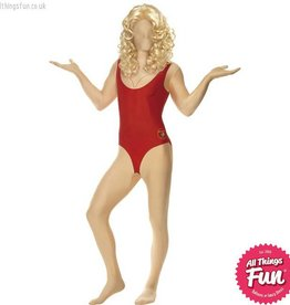 Smiffys Baywatch Female Second Skin Costume