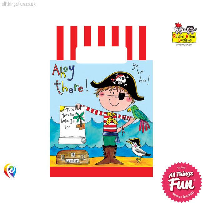 Pioneer Balloon Company Party Bags - Pirate