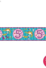 Pioneer Balloon Company Foil Banner - Age 5 Mermaid