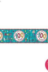 Pioneer Balloon Company Foil Banner - Age 100 Happy Birthday