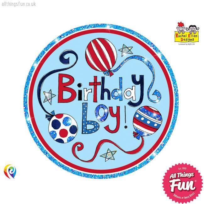 Pioneer Balloon Company Fliter Badge - Birthday Boy