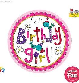 Pioneer Balloon Company Fliter Badge - Birthday Girl