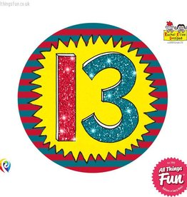 Pioneer Balloon Company Fliter Badge - Age 13 Wow